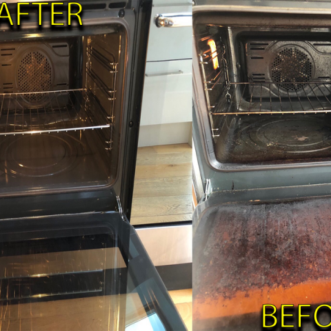 Oven Clean Result
